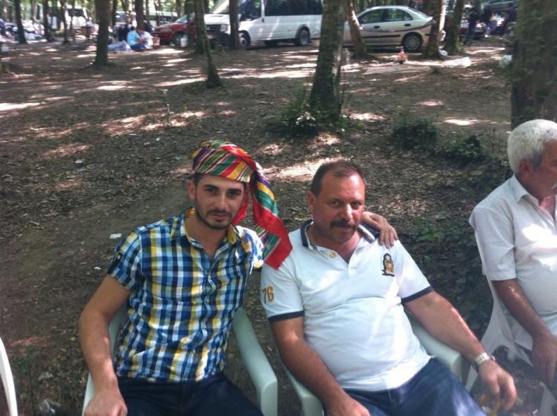2013 Yılı Köy ağamız Yusuf Ecevit ve Babası