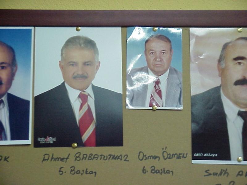 Kurucu üyelerimiz ve eski başkanlarımız